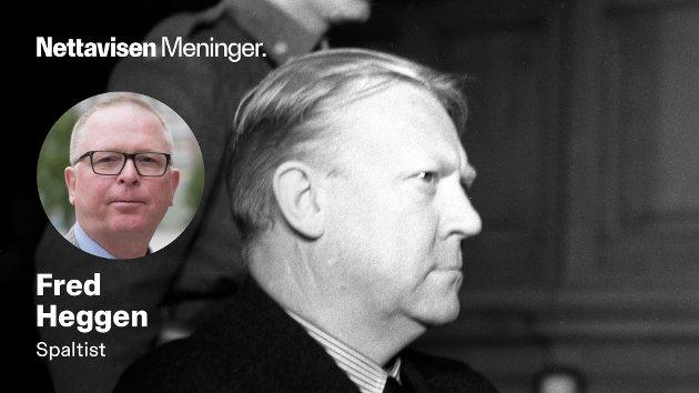 Fryktet man at en grundig vurdering av Quislings psykiske helsetilstand ville konkludert med en eller annen form for sinnssykdom, som ville gjort det vanskelig å få ham henrettet? spør psykiater Fred Heggen.
