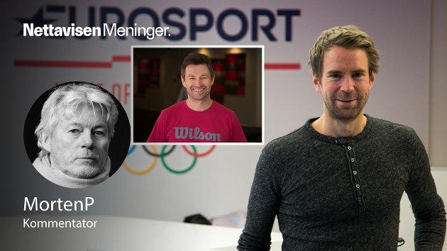 Tennis-sendingene på Eurosport Norge og Discovery+ er en fest for alle. Kommentatorene Christer Francke (innfelt) og Ola Bentzen tar det ned istedenfor opp, det er ikke noe faglig snobberi - alt mens Ola og Kari skjønner hva som skjer fordi de blir forklart hva som skjer, mener Nettavisens sportskommentator.