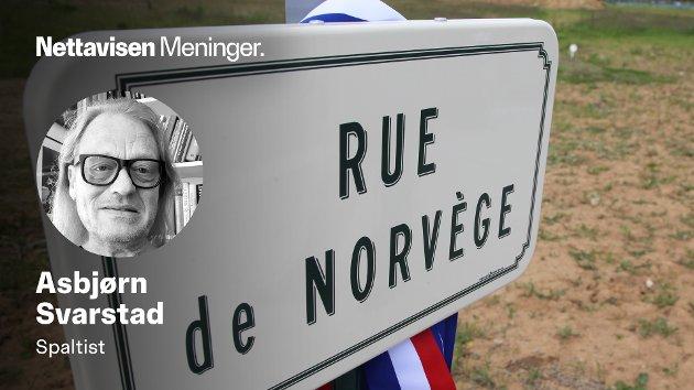 I disse dager blir det - i sterkt nedtonet utgave - markert over hele Normandie at det er gått 77 år siden D-dagen.Også Norge har fått sine offisielle plasser på de franske slagmarkene i Normandie.