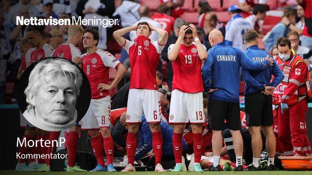 KOLLAPSET: – Det var da Danmark-Finland virkelig handlet om å kjempe for livet du så hva fotball gjør med lagkamerater, fans og spillere på tvers av landslag, landegrenser og kontinenter.