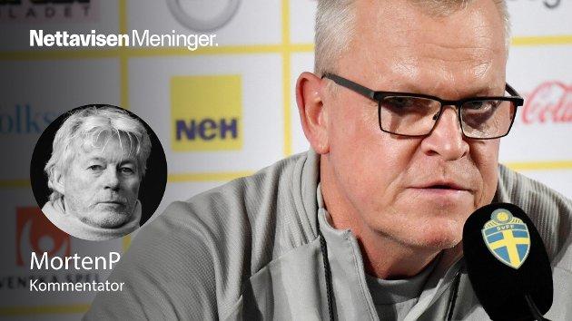 Janne Andersson angrer ingenting, og hvorfor skal han det? Hadde Sverige hatt maksimal flaks hadde de jo scoret på en av de to gigantiske sjansene som kom deres vei. I fotball er det ikke fotballen det kommer an på. Det var bare noe Sverige trodde den gangen de var gode, skriver MortenP.