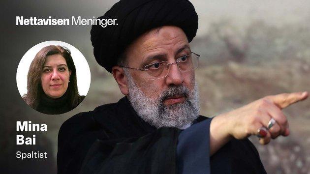 Den svært konservative kandidaten Ebrahim Raisi ligger svært godt an til å bli Irans nye president etter valget fredag 18. juni.