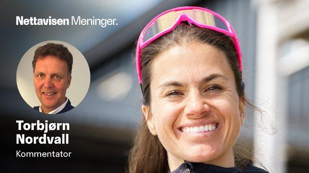 MER SKI - MINDRE POLITIKK, TAKK: Nettavisen langrennsekspert ønsker at utøverne skal gjøre det de er gode på - ikke det som Erna Solberg og hennes likesinnede er gode på: Å snakke politikk. Her er Heidi Weng på sommertrening på Sognefjellet i juni i år.