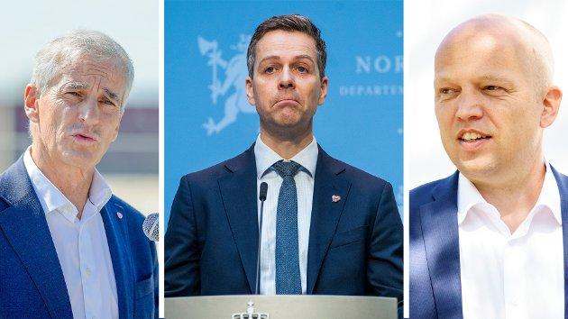 – Trygve Slagsvold Vedum og Jonas Gahr Støre påstår at norske entreprenører ikke klarer å konkurrere med utenlandske aktører, og at vi har en «dum stat» som legger opp til dette.Nei, vi har en smart stat – der de fleste kontraktene går til norske entreprenører, skriver Knut Arild Hareide.
