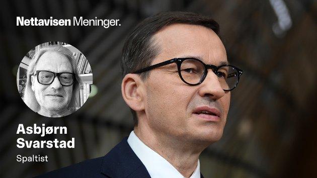 Polske topppolitikere, her representert ved statsminister Mateusz Morawiecki, er rammet av et massivt hacker-angrep etter at noen høyt på strå trolig har vært slumsete i sin omgang med egen mail-konto.