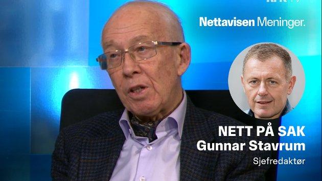ØNSKER DEBATT: Medisinprofessor Stig S. Frøland advarer mot dem som avviser laboratorieteorien som en konspirasjon.