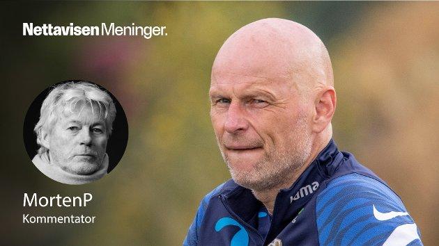 – Fem kamper gir Ståle Solbakken analysegrunnlag nok til å stille en faktisk diagnose på Norge. Jeg sitter med en følelse av at den ikke er altfor oppløftende, skriver MortenP.