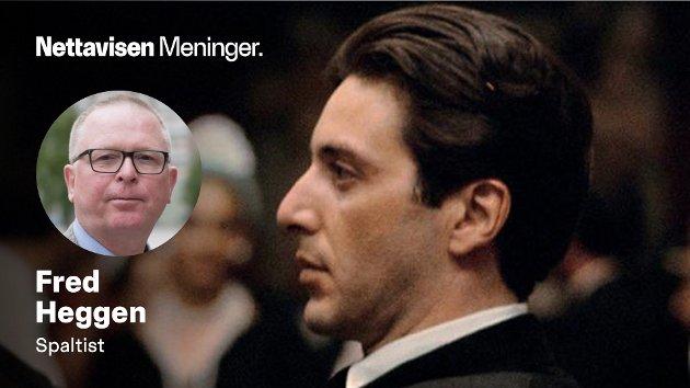 – På begynnelsen av 1970-tallet lanserte Francis Ford Coppola sine to første «Gudfaren»-filmer, og brødrekonflikten inntok posisjonen som tidenes mest spektakulære, skriver Fred Heggen.