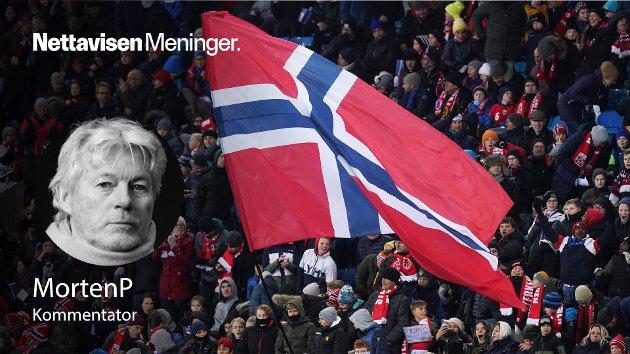 – Det er ikke uflaks og marginer som gjør at Norge er 42 på FIFA-rankingen, mens ligarankingen i Europa er 22. Ifølge en ny rapport handler det om udugelighet, skriver MortenP. (Illustrasjonsfoto fra EM-kvalifisering på Ullevaal stadion).