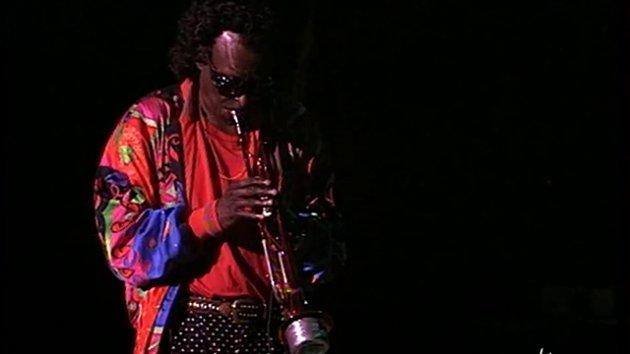 Miles Davis i aksjon i Vienne den 1. juli 1991.