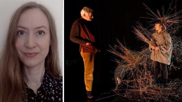 Kronikkforfatter Katrine Bull Evensen skriver at friheten som Ways of Seeing og miljøet rundt kjempet for i 2019, ikke gjelder for personene innad i miljøet. Bildet er fra teaterstykket som ble satt opp på Back Box.