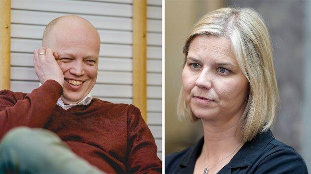 – Senterpartiet går til valg på at lærere utdannet før 2014 skal slippe kompetansekrav. Hva med ambisjonene for deres elever? spør Guri Melby.