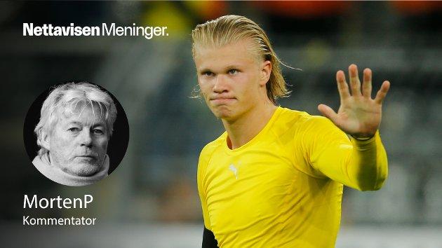 VM-HÅPET: – Når Haaland spiller for Borussia Dortmund kan han tillate seg å være konsentrert om sluttproduktet, scoringene. For Norge må han ta på seg større arbeidsoppgaver og bidra i flere deler av det oppbyggende spillet, skriver MortenP.