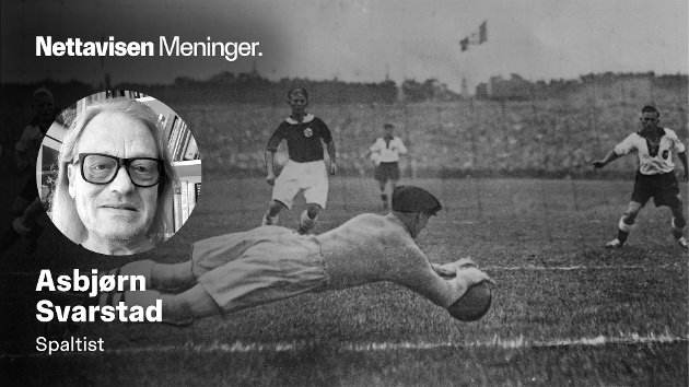 Sommer-OL i Berlin, Tyskland i 1936. Henry Johansen (Tippen) redder et tysk skudd.