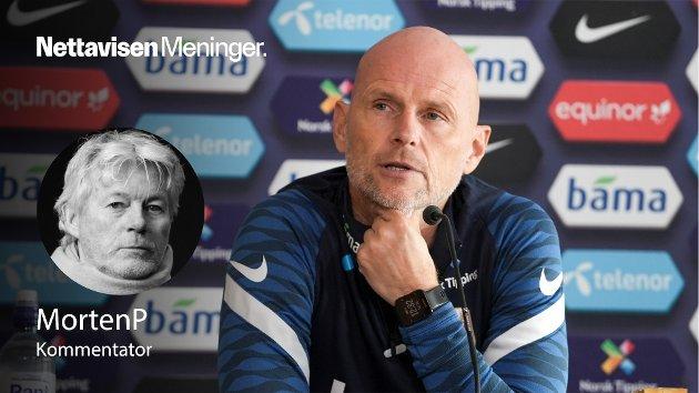 – Da Ståle Solbakken tok over Norge trodde han at jobben ville dreie seg om fotball. Så langt har den handlet mest om politikk og sjukdom, skriver MortenP.