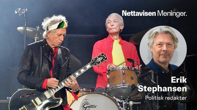 Samspillet mellom Keith Richards (tv) og Charlie Watts var selve kjernen i Rolling Stones.