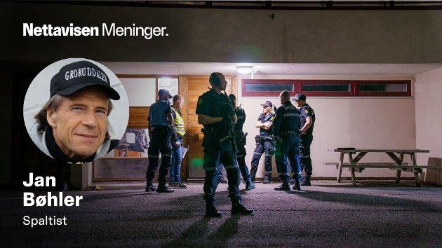 To unge menn i 19-20 årsalderen ble skutt og funnet alvorlig skadet i en oppgang på Trosterud, natt til onsdag.