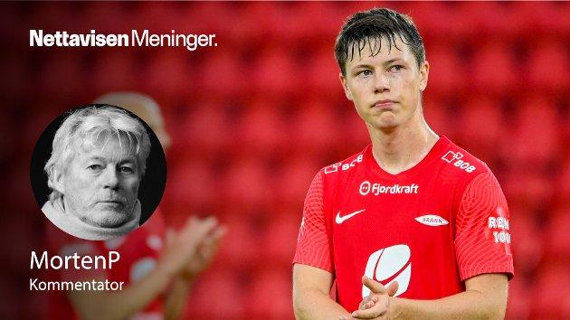 – Er det sant at Mathias Rasmussen er på vei ut døra er det de facto sånn at Brann-spillerne ikke får lov til å ha egne meninger, skriver MortenP.