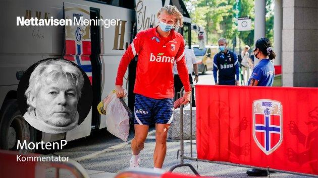 Det krever mye av fotballaget Norge å ha en spiller av Erling Braut Haalands kaliber. Han er vår Zlatan, Ronaldo, Messi eller Lewandowski. Han kaster store skygger i alle retninger, skriver MortenP.