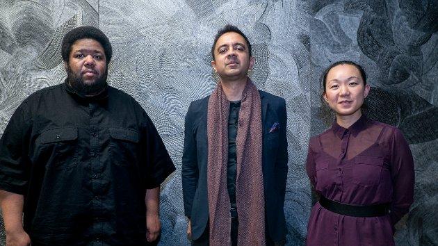 Tyshawn Sorey, Vijay Iyer og Linda May Han Oh - hvilken trio!