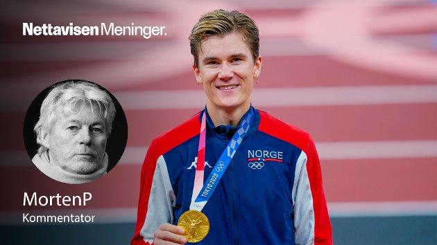 GULLMEDALJE: – Da Jakob Ingebrigtsen sa han skulle vinne OL-gull i 2020 var han elleve år, skriver MortenP.