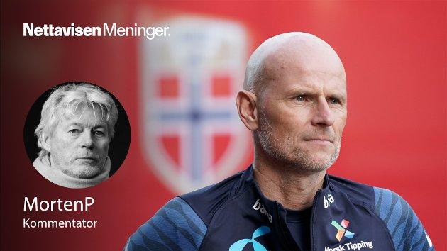 – Jobben hans har vært merkelig til nå, men i kveld får den fotfeste med Solbakkens første hjemmekamp på Ullevaal, skriver MortenP om landslagstreneren.