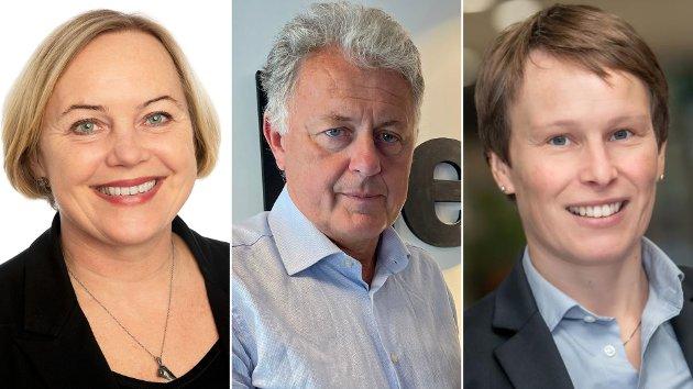 FAGLIG UAVHENGIG: Gunnar Stavrum mener «Statistisk sentralbyrå ikke kan være en tenketank for rødgrønn skattepolitikk». Det er vi heller ikke, svarer Ann Kristin Brændvang (t.v) og Linda Nøstbakken (t.h) fra SSB.