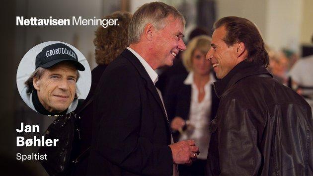 TAKKNEMLIG FOR ALT RUNE HAR BETYDD: – Få visste å sette sånn pris på livet som Rune, der han levde ut sine interesser, enten det var som skøytepresident eller på turer i vill natur med gode venner, skriver Jan Bøhler (Sp) i dette minneordet for Rune Gerhardsen. Her fra Arbeiderpartiets valgvake i Folkets Hus i Oslo i 2011.