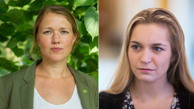 UENIGE: - Å kalle seg et grønt parti betyr ikke at man har klimapolitikken som faktisk kutter utslipp, skriver Mathilde Tybring-Gjedde i tilsvaret til MDGs Une Bastholm.