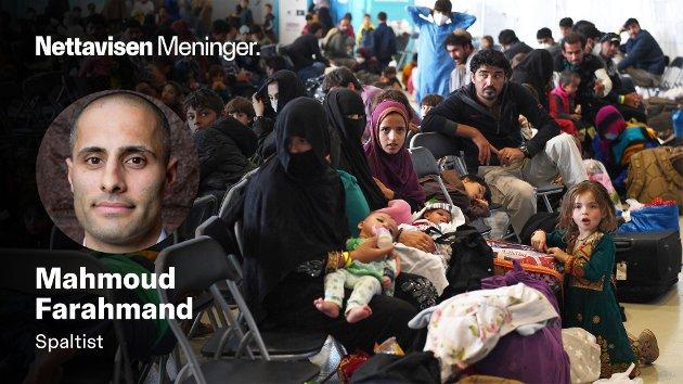 SVARER MDG: – MDGs innvandringspolitikk er verken human, rettferdig eller særlig gjennomtenkt og det vil ei heller bidra til et bedre liv til de millionene av flyktninger som trenger hjelp aller mest, skriver Mahmoud Farahmand. (Illustrasjonsfoto av Afghanske flyktninger).