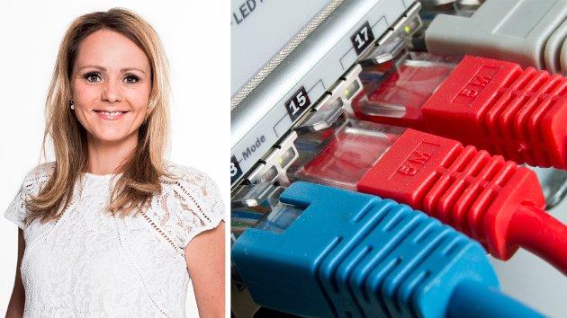 Det gjør meg stolt at det mange av bedriftene langs kysten og ute i distriktene som er noen av de fremste innen digitalisering i Norge. Det legger grunnlaget videre utvikling av lønnsomme arbeidsplasser og fremtidsrettet næringsutvikling i hele landet, skriver Linda Hofstad Helleland. (Foto: KMD / Colourbox)