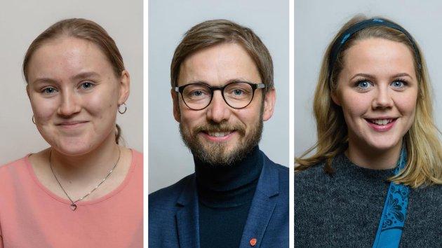 Silje Vollan Nilsen, Odne Stunes og Marta Hofsøy