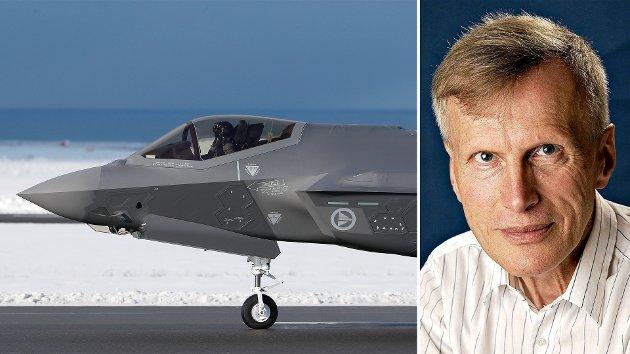 Norge må kutte fra 52 til ca. 28-34 av kampflyet F-35, for å frigjøre penger til blant annet tilstrekkelig helikopterkapasitet på Bardufoss. Gjør vi ikke det, kommer det nok helikoptre, men det blir en halv løsning, skriver John Berg.