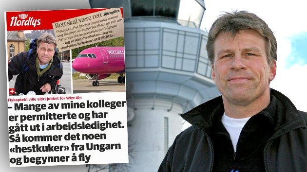Mens det hersker en unntakstilstand i verden, invaderes norsk luftfart av en utenlandsk profitør med ansatte på rene skjære slavekontrakter, skriver Per Gunnar Stensvaag.