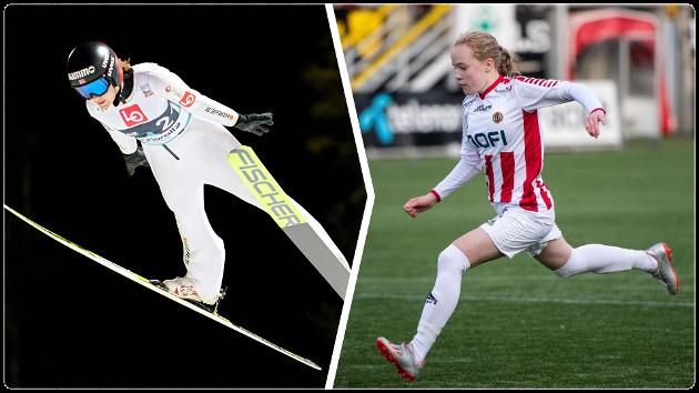 Landslagshopper Anna Odine Strøm fra Alta IF og TILs Ina Birkelund driver begge med idretter som ikke var vanlig eller tillatt for kvinner for et par generasjoner siden.