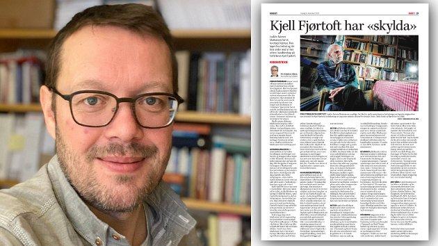 """UiT-historiker Stian Bones kommenterer denne kronikken fra forfatter og journalist Per Kristian Olsen, og konkluderer med at  """"Olsen ikke helt treffer planken, for å si det slik."""""""