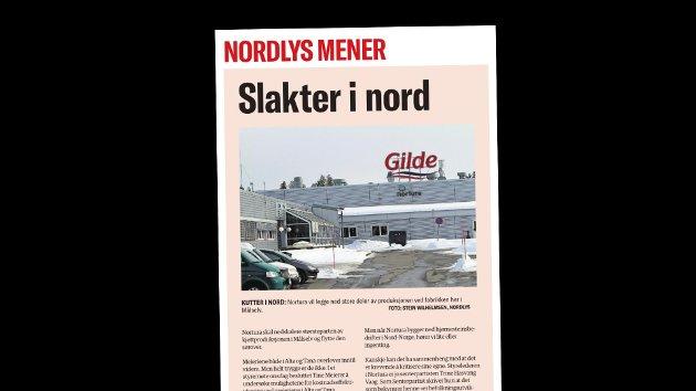 Geir Adelsten Iversen svarer på denne lederartikkelen i Nordlys 28. januar.