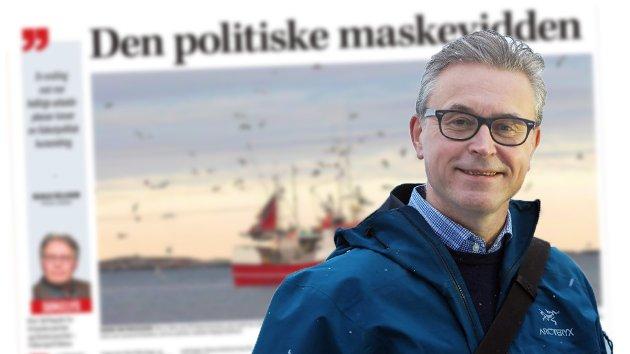 Avtroppende fiskeriminister Odd Emil Ingebrigtsen (H) svarer på en kommentarartikkel fra Nordlys' politiske redaktør Skjalg Fjellheim.