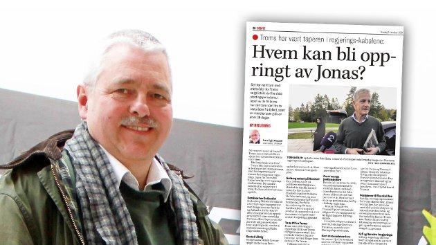 Hva er det egentlig Jonas Gahr Støre vil legge mest vekt på, når han skal ringe rundt med tilbud om å bli statsråd i hans nye regjering? spør Stein Thraning. Innfelt den aktuelle kommentarartikkelen til Lars Egil Mogård.