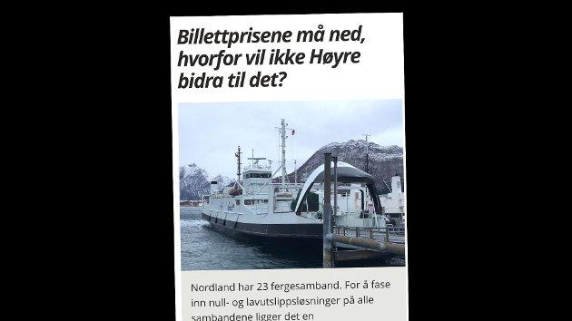 Martin henriksen (Ap) får svar fra Høyre på dette innlegget.