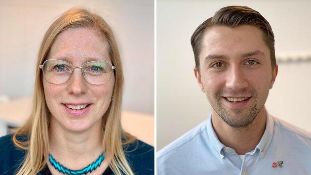 Marit Stubberud Hansen, 5. kandidat og Nicklas Simonsen, 10. kandidat for Troms Arbeiderparti