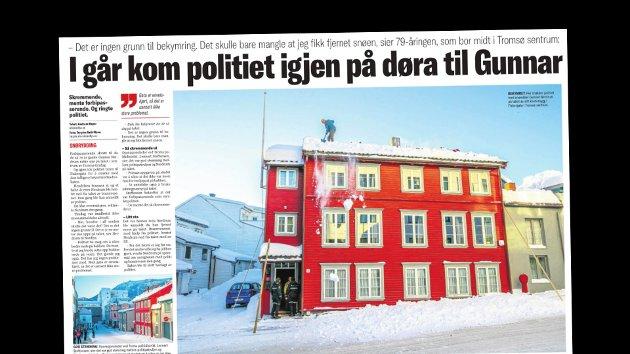 Nordlys onsdag 17. januar.