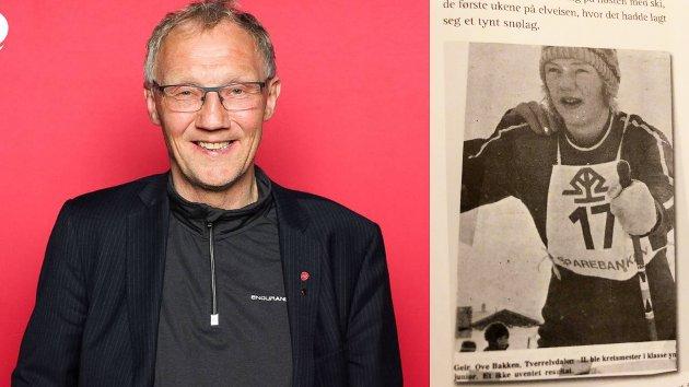 Geir Ove Bakken, fylkestingsrepresentant for Ap i Troms og Finnmark - og gammel konkurranseløper.