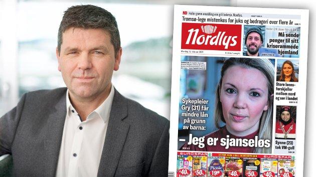 En by som Tromsø kan ikke sitte å se på at nøkkelpersonell med gode faste jobber ikke skal kunne kjøpe seg et sted å bo. Den gode nyheten er at dette er løsbart dersom det er politisk vilje, skriver Karl Arne Jespersen i Mesterhus. Nordlys-oppslaget er fra 15. februar i år.