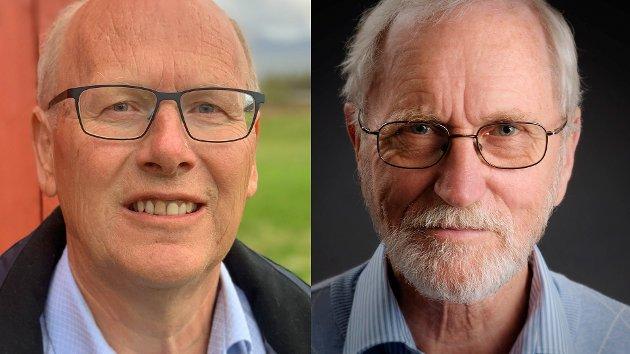 Nordnorsk debatt lar dette innlegget fra Hogne Hongset (t.h.), i holmgangen med Oddmund Enoksen om vindkraft på Øyfjellet, være det siste i denne runden.