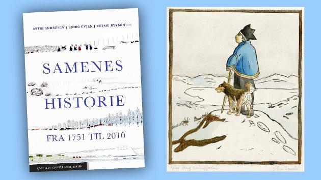 """Flere av poengene i boka ville ha blitt mer forståelige om bokverket hadde inneholdt flere kart. Ikke minst gjelder det i de kapitlene som omhandler den intrikate historien om reindrifta. Boka hadde også fortjent en bedre billedlegging, skriver Einar Arne Drivenes i sin anmeldelse.  Blant illustrasjonene som finnes er John Andreas Savios tresnitt """"Ung reingjeter""""."""