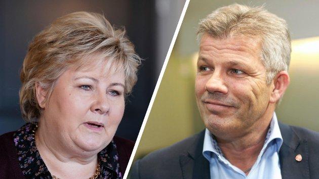 Den raushet politisk redaktør i Nordlys innvilger statsminister Erna Solberg må også gjelde Bjørnar Skjæran, mener Jan-Thore Lockertsen.