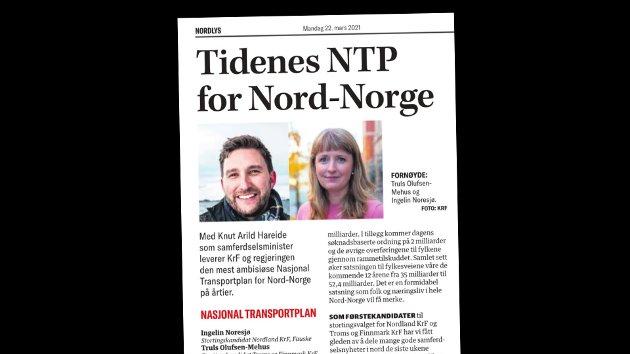 Nordnorsk debatt 22. mars