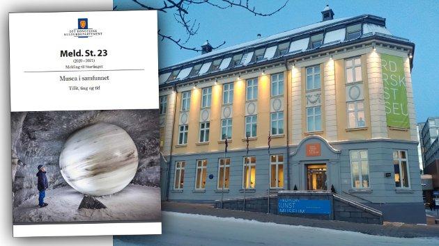 Stortingsmeldinga setter NNKM mildt sagt i en vanskelig skvis. Det er ikke til museets beste nå å fragmentere det lille av energi rundt museet. Fokuset må være å redde det som reddes kan i relasjoner og organisasjon. Å kreve av et sønderskutt museum å opprette filial i Bodø, bør ikke skje før NNKM har fått nye lokaler, ny kunstnerisk ledelse og ikke minst har gjenopprettet tilliten blant kunstnerne, skriver Tromsø-ordfører Gunnar Wilhelmsen.