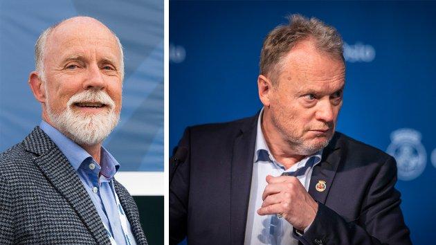 Det ser ut til at Oslo aldri får kontroll på smitten, sa Moldes ordfører Torgeir Dahl, og kritiserte dermed byrådet i hovedstaden og byrådsleder Raymond Johansen. Det førte til et massivt jag på Dahl fra Oslo-media.